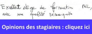 opinions des stagiares